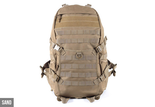 Water Resistant Tactical Hiking Backpack - Three Colours Available