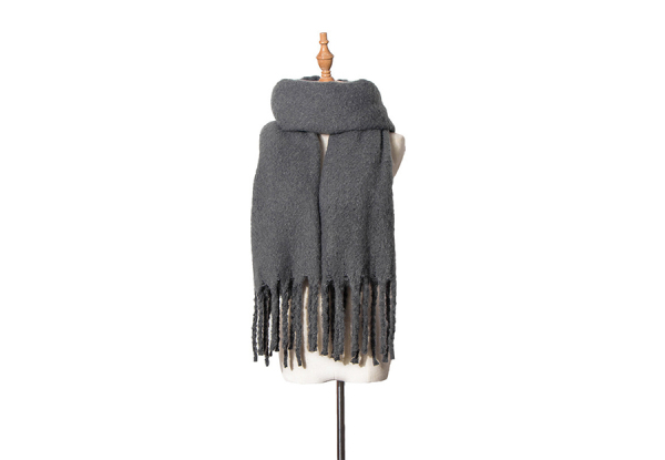 Super Soft Winter Scarf - Eight Colours Available with Free Delivery