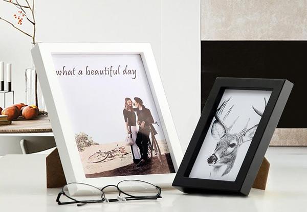 Wooden Photo Frame Set • GrabOne NZ