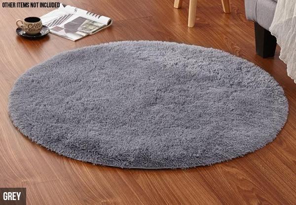 Super Soft Round Area Rug Grabone Nz