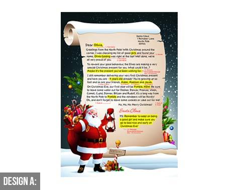 personalised letter from santa • grabone nz