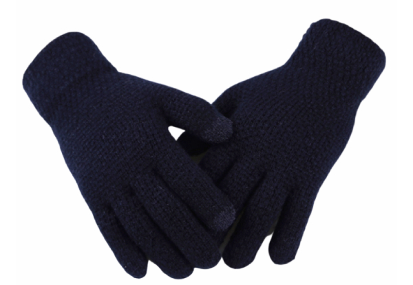 Touch Screen Winter Gloves - Five Colours Available with Free Delivery