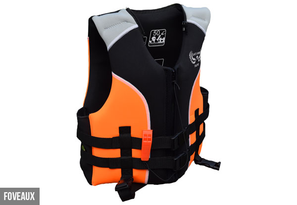 SafehaNZ Neoprene Life Jacket - Adult & Children Styles with Five Sizes Available