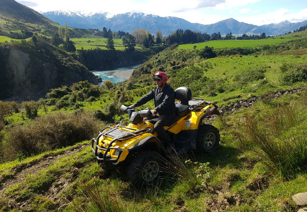 Quad-Bike Ride for One Person - Options for up to Six People