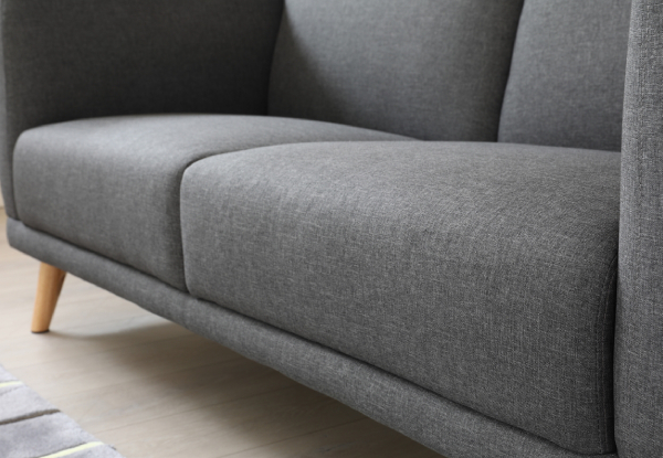 Italian Designed Three-Seater Sofa - Three Colours Available