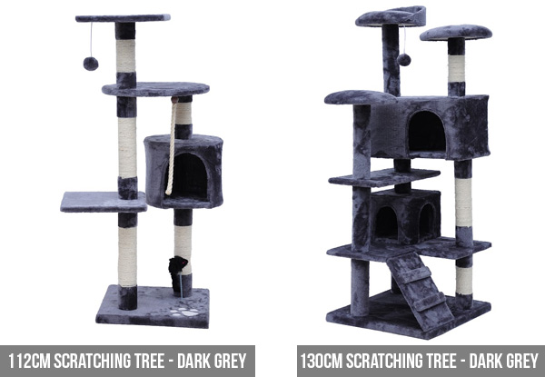 Cat Scratching Tree - Four Sizes Available