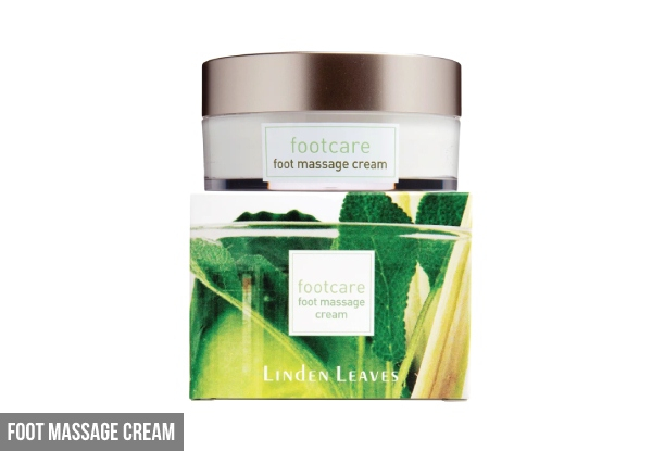 Linden Leaves Foot Care Range - Three Options Available