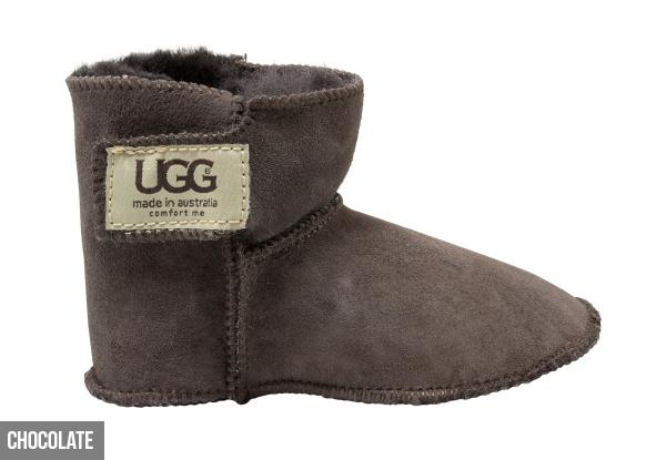 35665bbad2d Baby Velcro UGG Booties