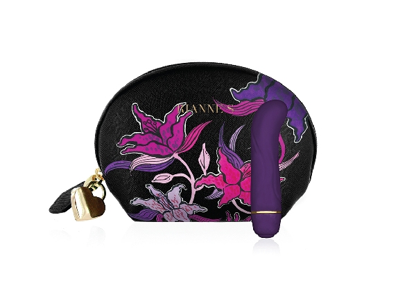 Mini G Vibrator with Matching Cosmetic Bag - Two Designs Available
