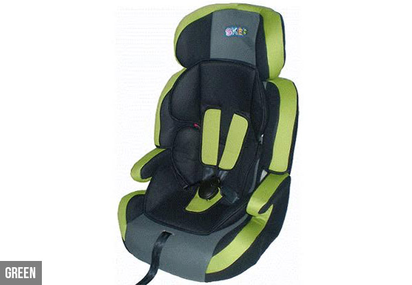 SKEP Comfort Travel Booster Carseat - Four Colours Available