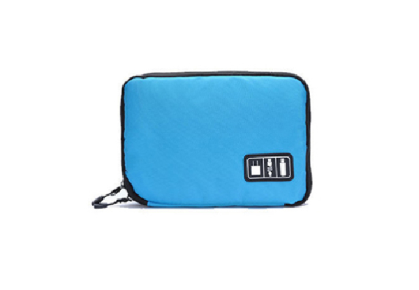 Electronics Accessories Travel Organiser - Two Colours Available & Option for Two