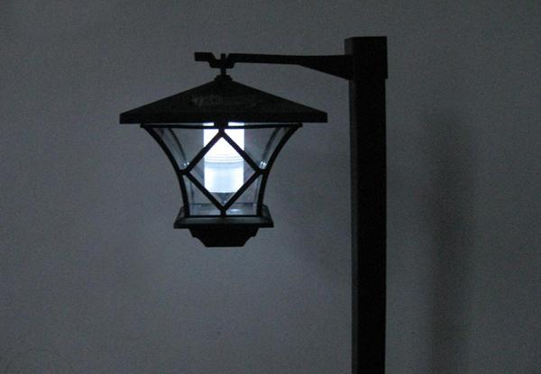 auto sensor led lamp post grabone nz