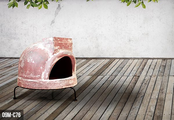 Outdoor Clay Pizza Oven - Four Options Available