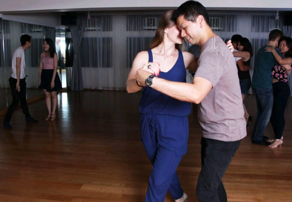 Eight Weeks of Dance Classes - Choose from Kizomba or Cuban Salsa Classes