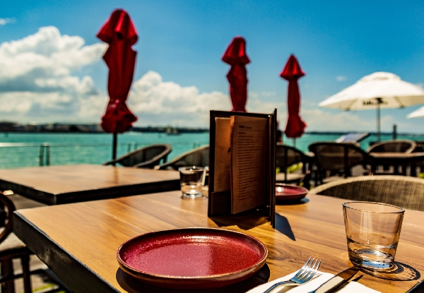 Three-Course Waterfront Lunch & Dinner Function Booking - Options for up to 20 People