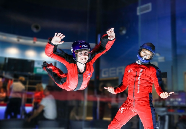 First-Time Flyer Two-Flight Package for One Person at New Zealand's First & Only Indoor Skydiving Facility - Midweek & Weekend Options Available