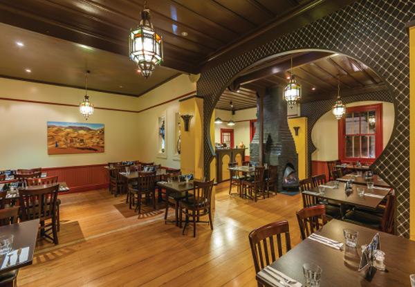 Kassaba Restaurant Menu