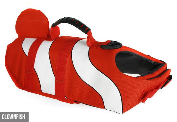 Dog Life Jacket Vest - Three Designs & Three Sizes Available