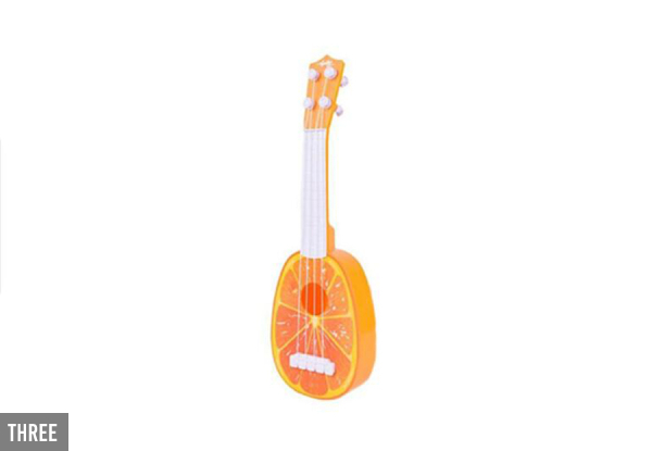 Kids Mini Ukulele Toy - Seven Styles with Free Delivery