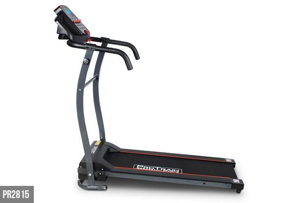 The Protrain Electric Treadmill Range - Four Options Available