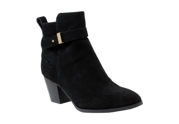 Auzland UGG Ladies High Heel Leather Boots - Two Colours & Six Sizes Available