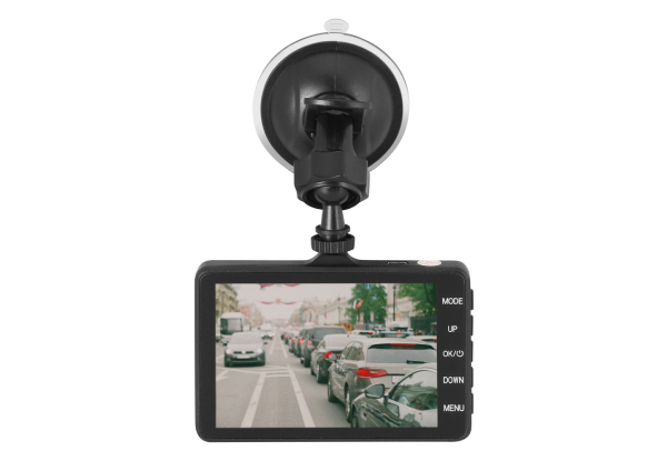 Urban Spec Full HD Dashcam with LCD