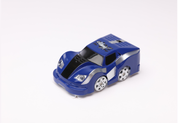 Gravity Defying Xtreme Racer Car Toy with Track Set - Two Colours Available & Option for Two-Pack