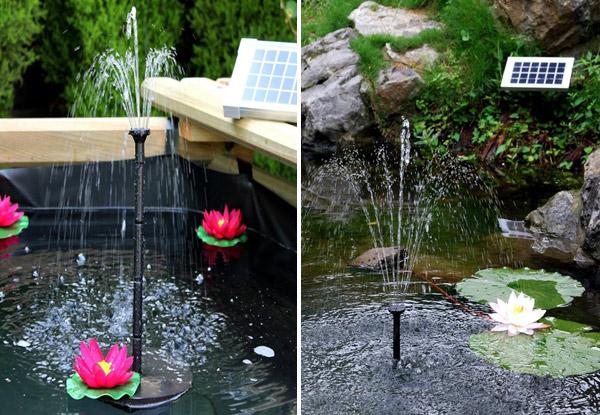 10v solar powered water pump u2022 grabone nz - Solar Powered Fountain