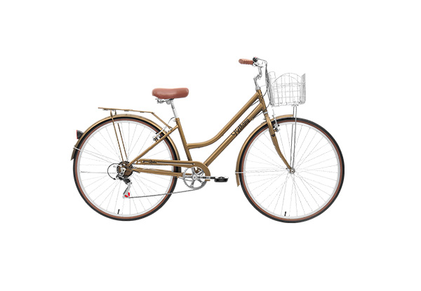 Bethany Vintage Style Bicycle with Basket Carrier with Free Delivery - Two Colours Available