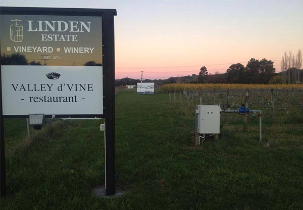 Three-Course Dinner for Two at Linden Estate Winery - Valid Friday Nights Only from 5th July 2019