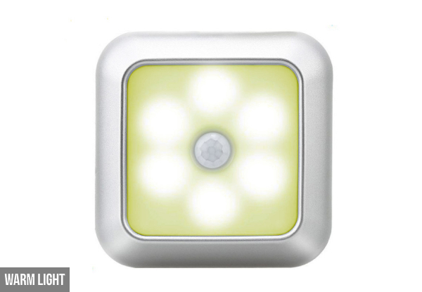Smart Motion Sensor LED Night Lamp - Two Colours Available