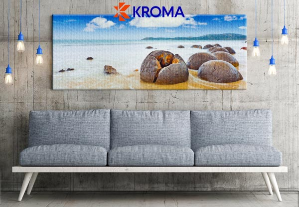 20 x 60cm Panoramic Canvas Print - Larger Sizes Available & Delivery