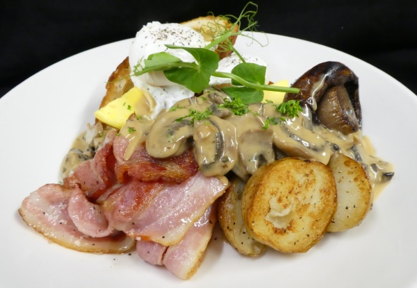 Two Brunch Meals - Valid Seven Days a Week from 9.00am - 11.00am