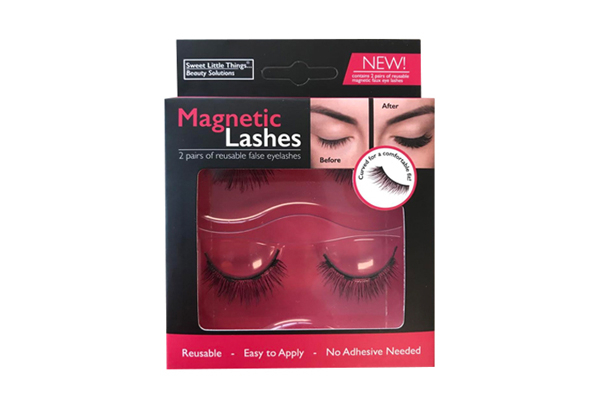Two Pairs of Magnetic Eye Lashes
