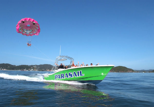 One-Person Parasail Flight in Paihia - Option for a Tandem Parasail Flight for Two People
