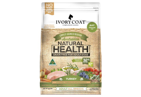 Carton of Four 2kg Ivory Coat Dry Dog Food Range - Six Flavours Available with Free Delivery
