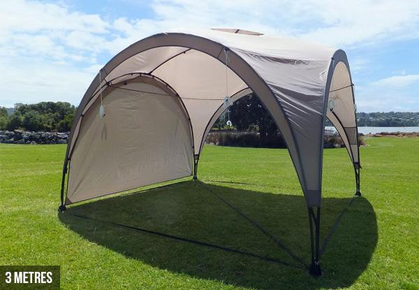 Side Of House Boat Shelter : M core gazebo shelter grabone nz