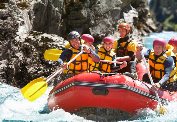 Hanmer Springs Guided Rafting Experience & Jet Boat Ride for an Adult - Option for Child