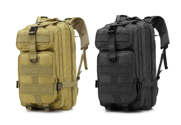 30L Military Camping Hiking Backpack - Two Colours Available & Option for Two