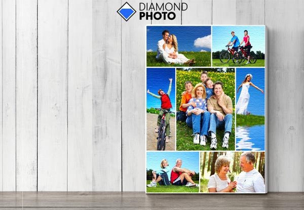 20 x 30cm Photo Canvas incl. Nationwide Delivery - Option for Three Canvases