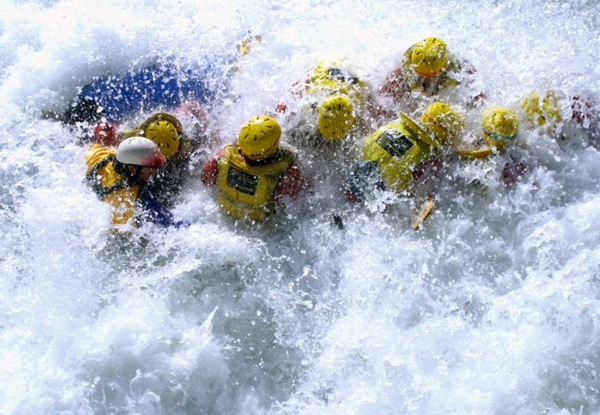 Half-Day Whitewater Rafting Experience for One on the Shotover River, Queenstown - Options for Two, Four or Eight People