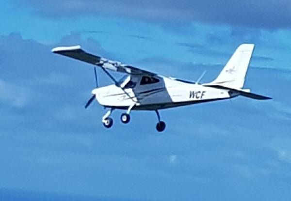 One-Hour Introductory Trial Flight for One Person