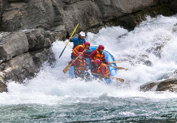 Half-Day Whitewater Rafting for One Adult on the Kawarau River, Queenstown - Options for up to Eight People