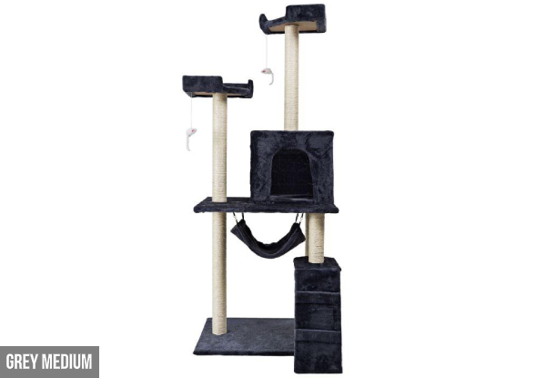 Happy Paws Cat Tree - Option for Small, Medium or Large