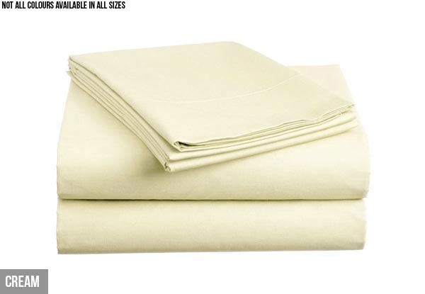 1000TC Microfiber Sheet Set - 10 Colours & Five Sizes Available