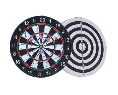 Dart Board With Six Darts Grabone Nz