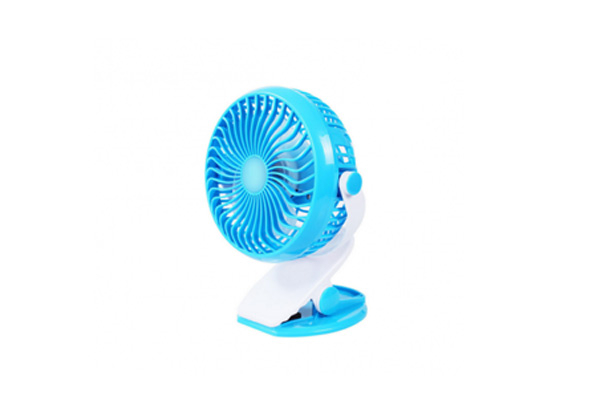 Clip On Mini Desk USB Fan - Four Colours Available & Option for Two with Free Delivery