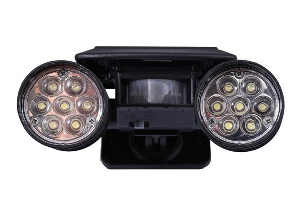 Solar-Powered Motion Sensor Security Light with Free Delivery
