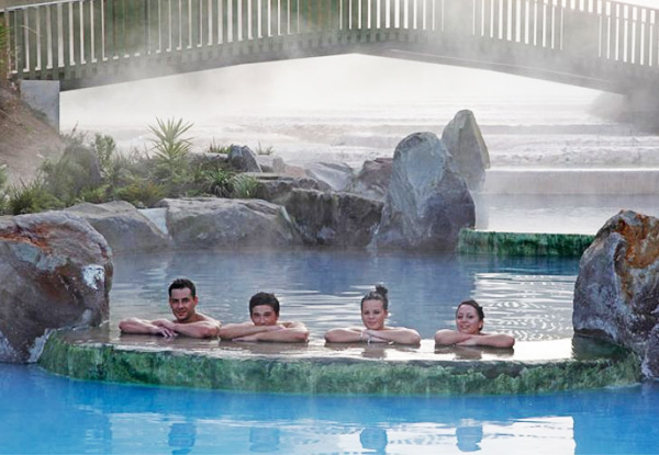 Thermal Hot Pool Entry for One Person at Wairakei Terraces