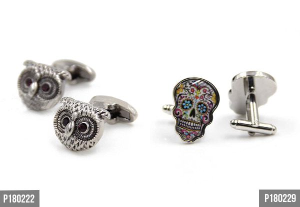 Cufflinks Gift Range - 10 Styles Available